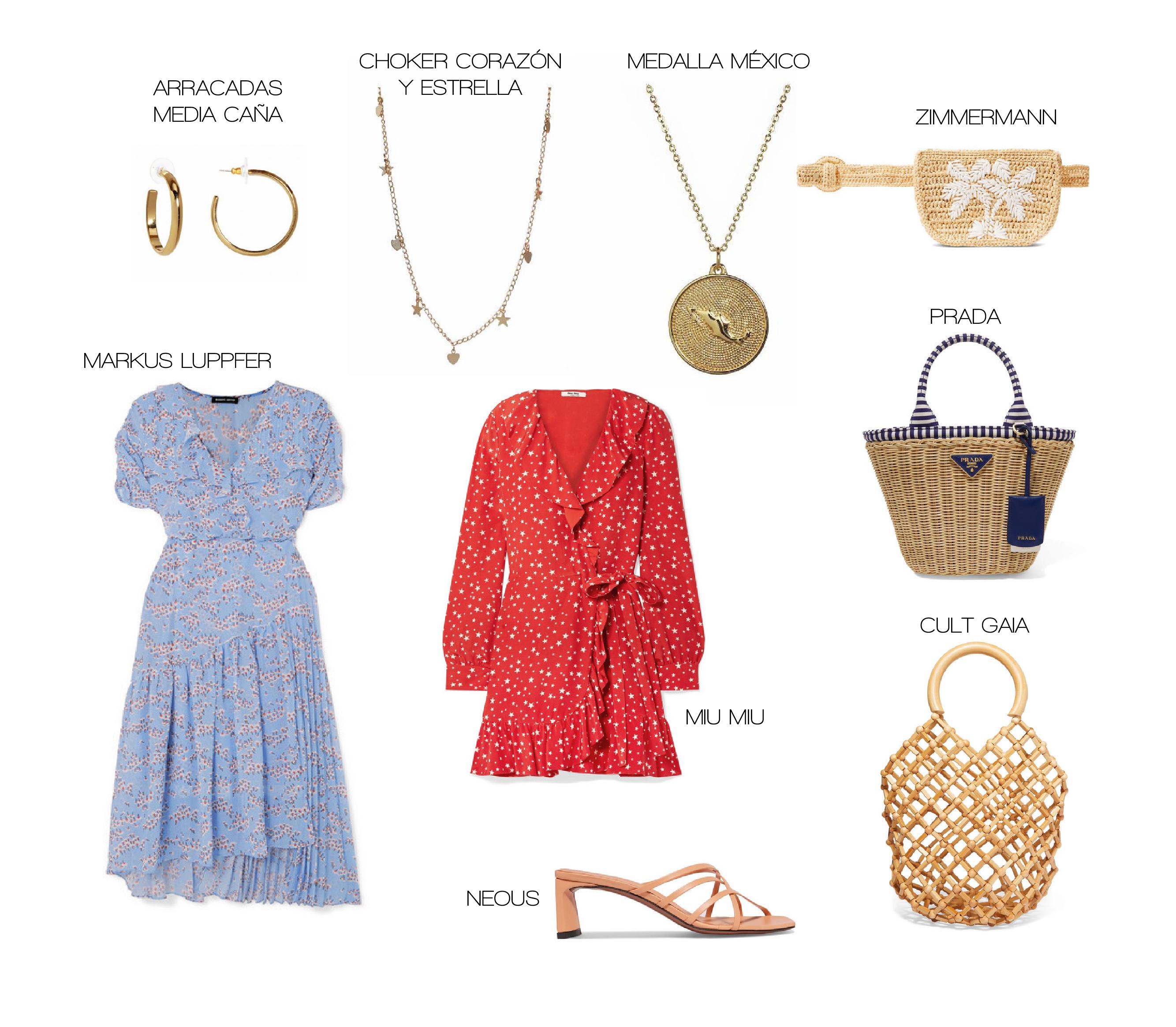 Look parisino y bolsas de canasta